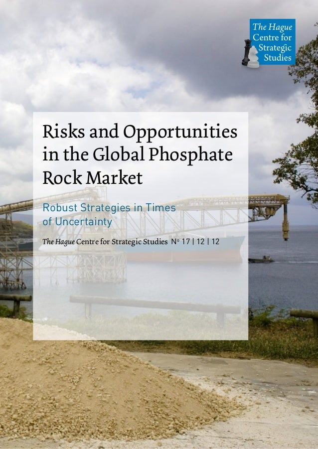 Risks and Opportunitiesin the Global PhosphateRock MarketRobust Strategies in Timesof UncertaintyThe Hague Centre for Stra...