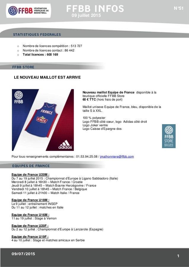 09/07/2015 1 1/Résultats des Equipes de France : o Nombre de licences compétition : 513 727 o Nombre de licences contact :...