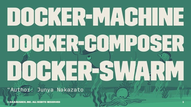 docker machine swarm