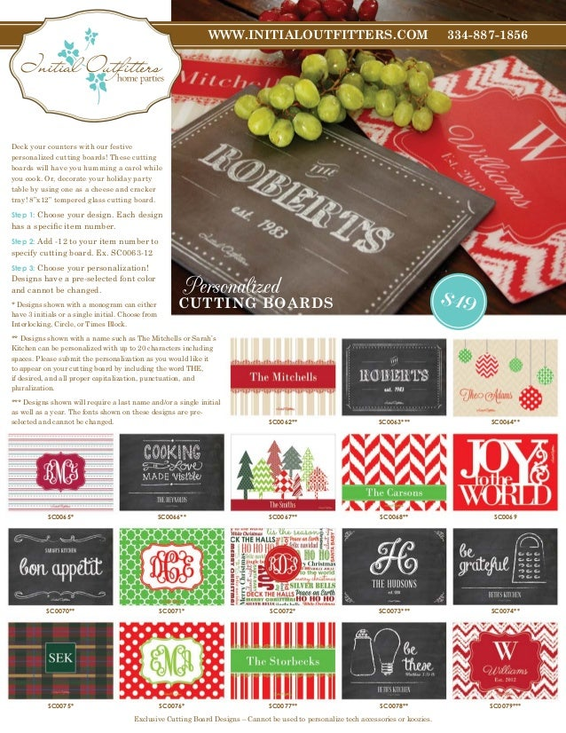 Initial Outfitters 2013 Holiday Issue