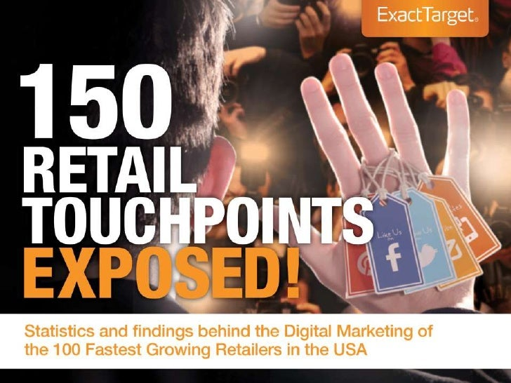 150 Retail Social, Email, Mobile, and Marketing Touchpoints Exposed