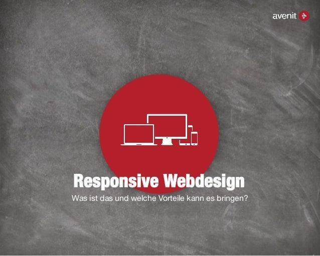 Responsive Webdesign Was ist das und welche Vorteile kann es bringen?