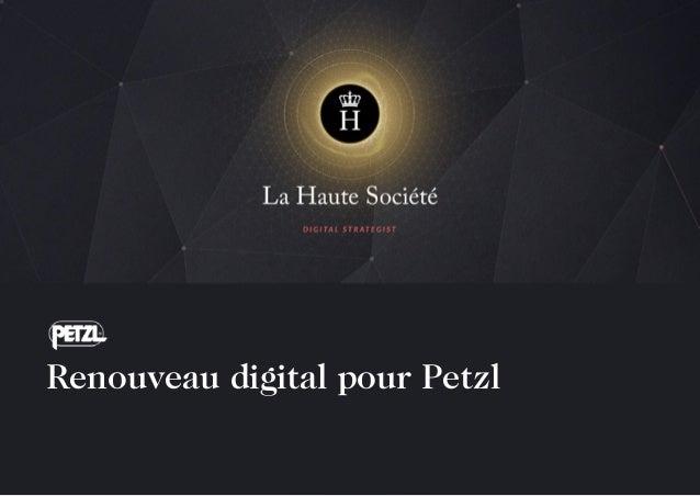 Renouveau digital pour Petzl