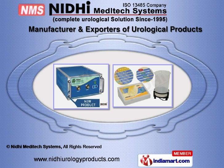 Nidhi Meditech Systems Gujarat India