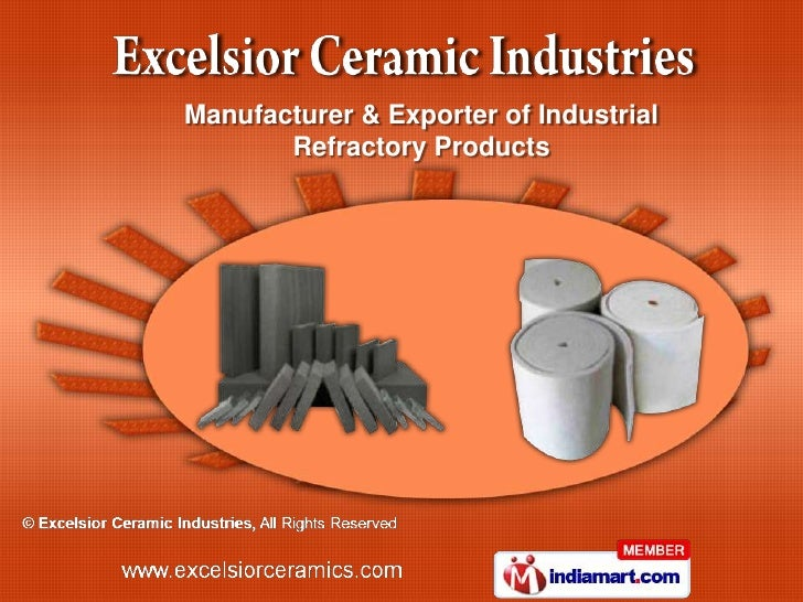 Manufacturer & Exporter of Industrial       Refractory Products