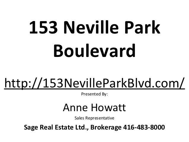153 neville park boulevard