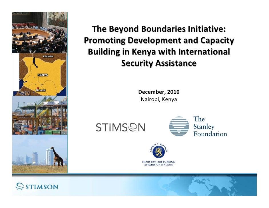 Beyond Boundaries: East Africa