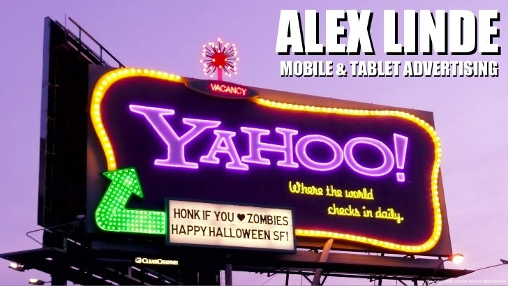 http://www.flickr.com/photos/fredabercrombie/ ALEX LINDE MOBILE & TABLET ADVERTISING
