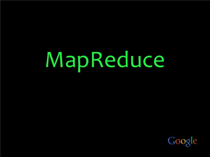 Map Reduce In 5 Minutes