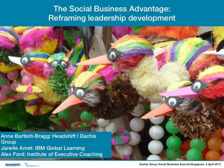 2011 SBS Singapore | Panel – The Social Business Advantage: Reframing Leadership Development