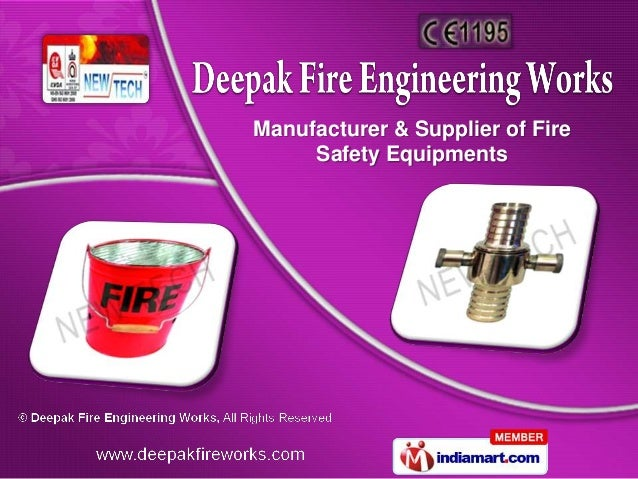 Manufacturer & Supplier of Fire     Safety Equipments