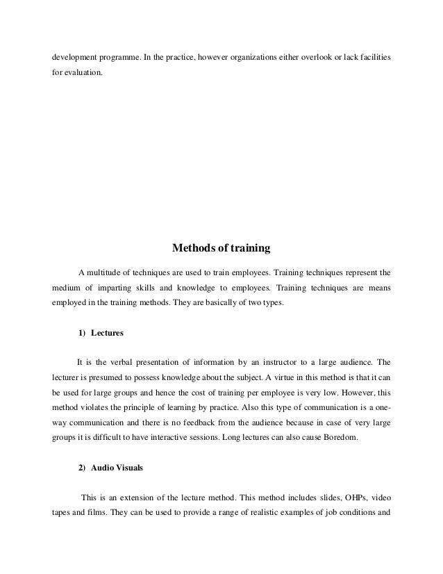 ProQuest Document View - five level training evaluation