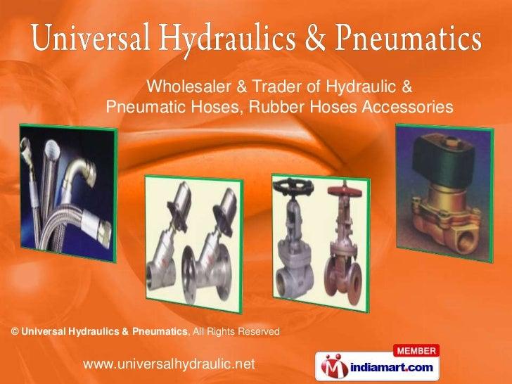 Universal Hydraulics And  Pneumatics Tamil Nadu India