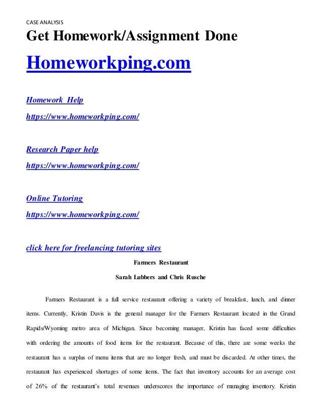 Bridgeton industries case study solution essays