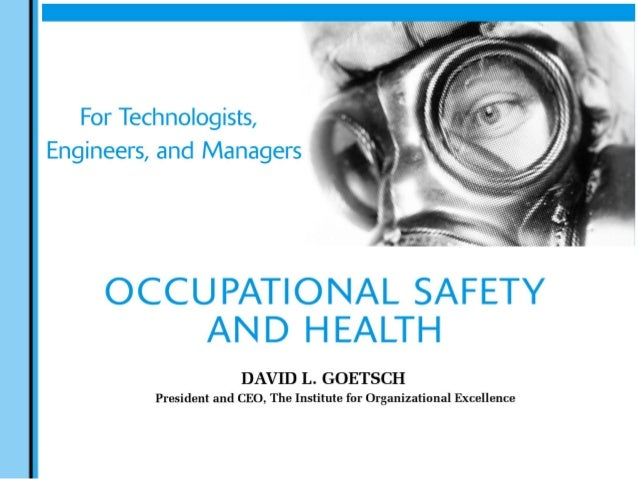 Chapter 9 - Product Safety and Liability  tab  Occupational Safety & Health for Technologists, Engineers, and Managers By ...