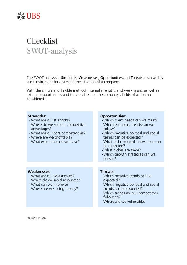 an analysis of swot analysis on issue to be taken in consideration Swot analysis essay swot analysis paper the purpose is to take under consideration the company strenghts issues and case analysis.