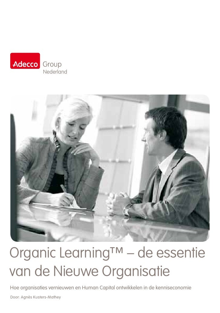 15 9 2011 White Paper Organic Learning