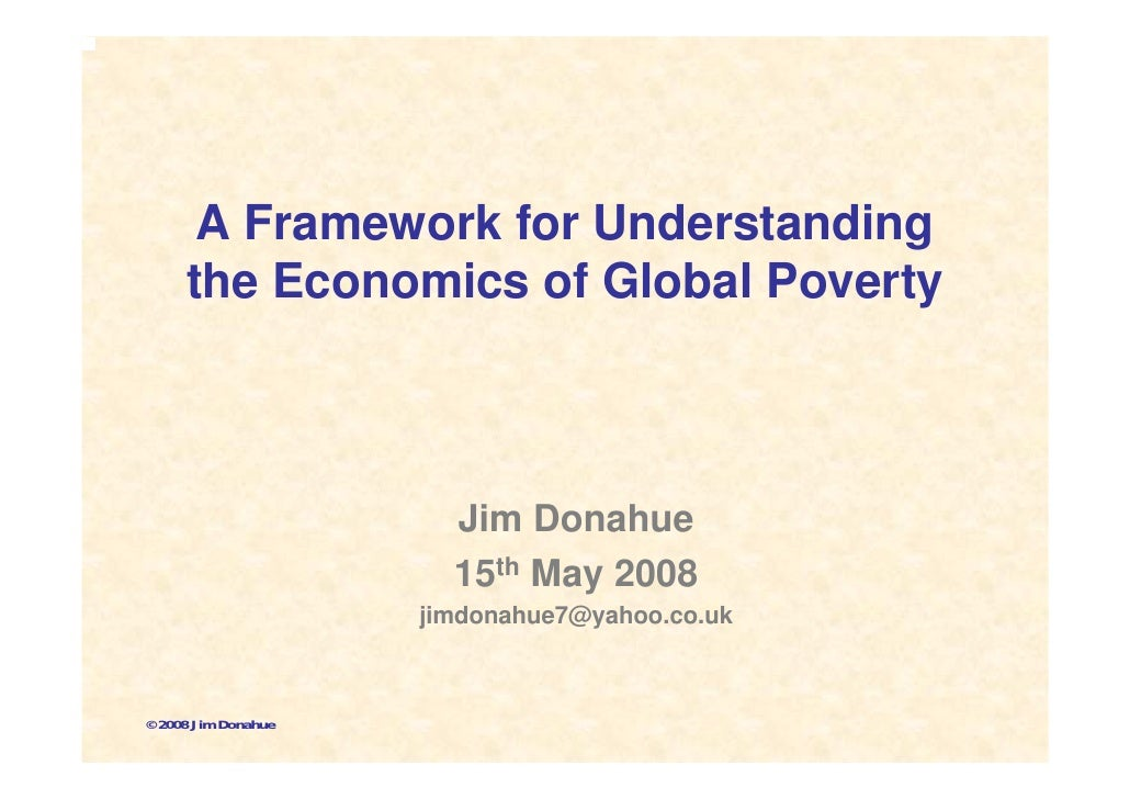 15 May 08   Global Poverty Presentation