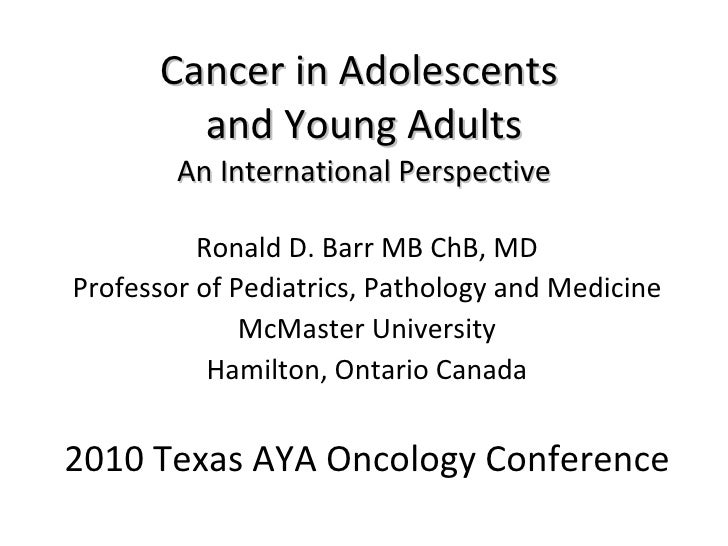 15 a texas aya oncology conference