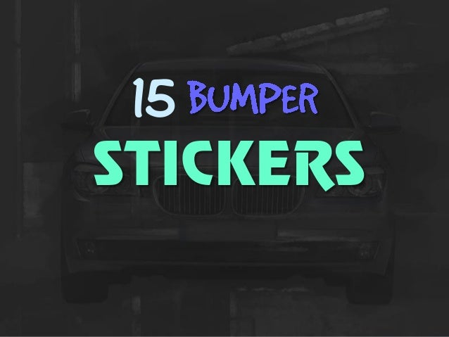 15 STICKERS