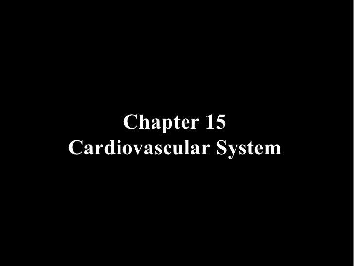 15 Cardiovascular