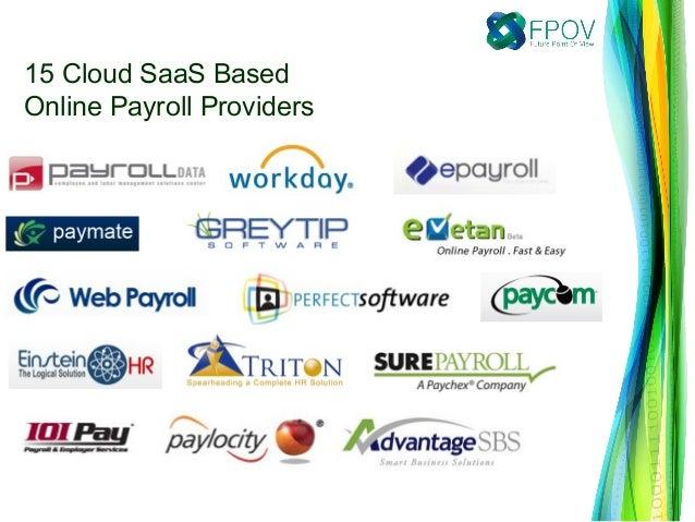 15 Cloud SaaS Based Online Payroll Providers