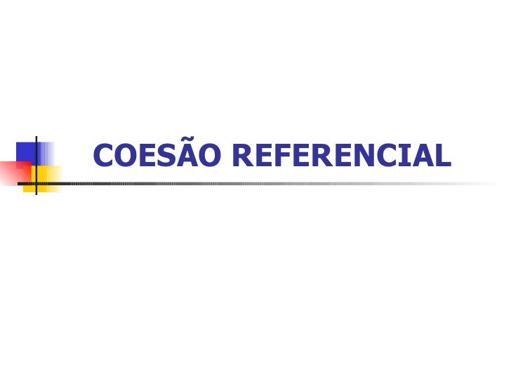 15 coesao referencial