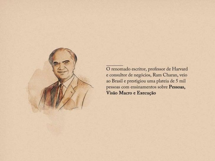 15 frases de Ram Charam O renomado escritor, professor de Harvard e consultor de negócios, Ram Charan, veio ao Brasil e pr...