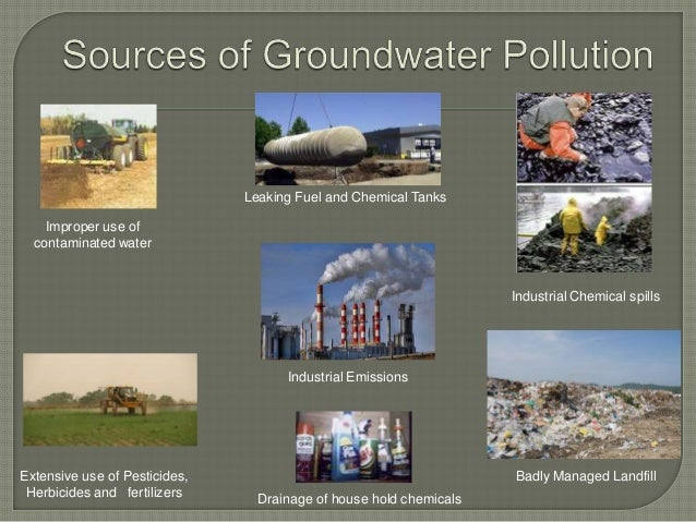 15 Groundwater Contamination Prevention And Remedial