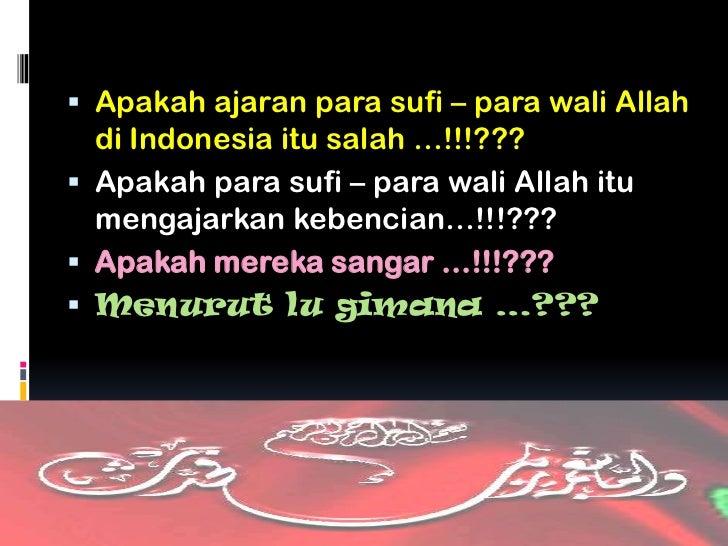 Wali Allah Indonesia Wali Allah di Indonesia