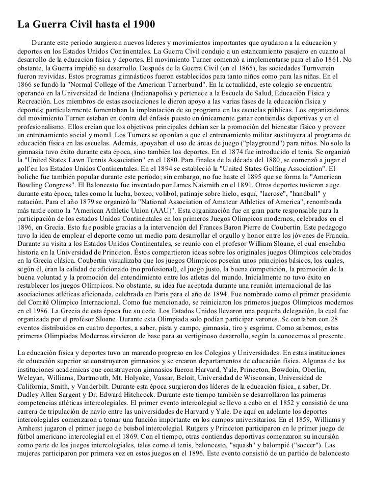 La Guerra Civil hasta el 1900     Durante este período surgieron nuevos líderes y movimientos importantes que ayudaron a l...
