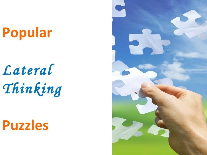Popular Lateral  Thinking Puzzles