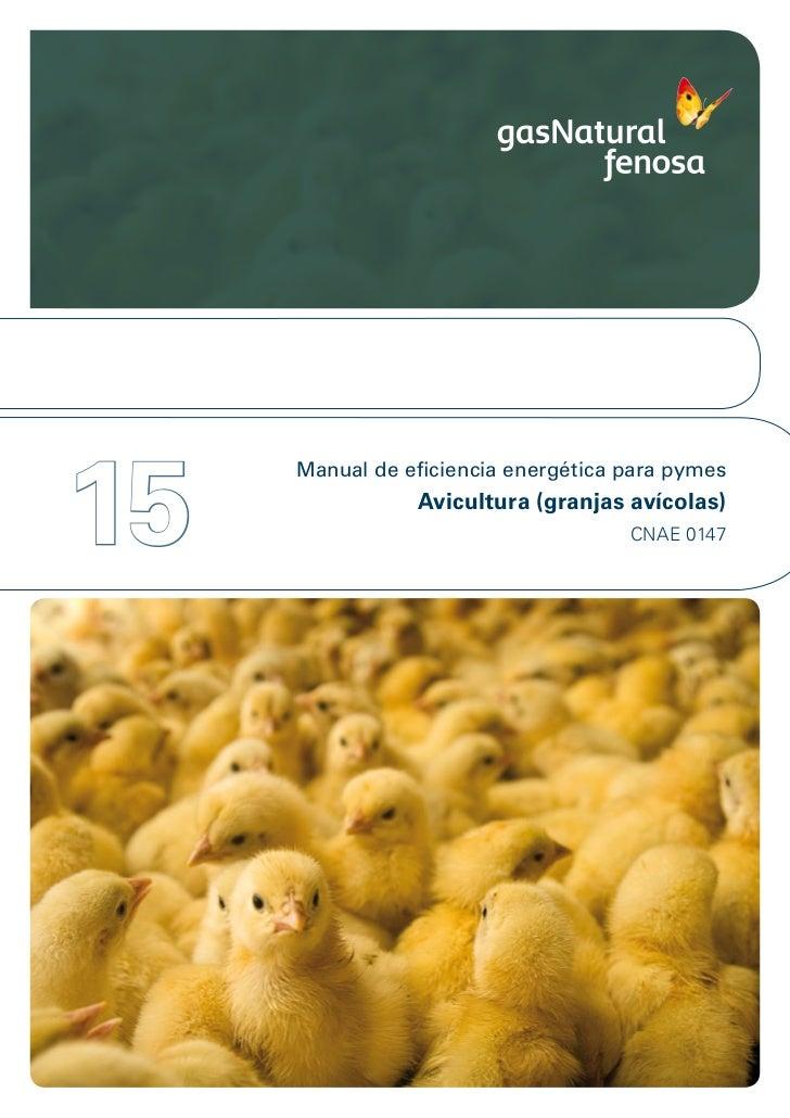 15     Manual de eficiencia energética para pymes                Avicultura (granjas avícolas)                            ...