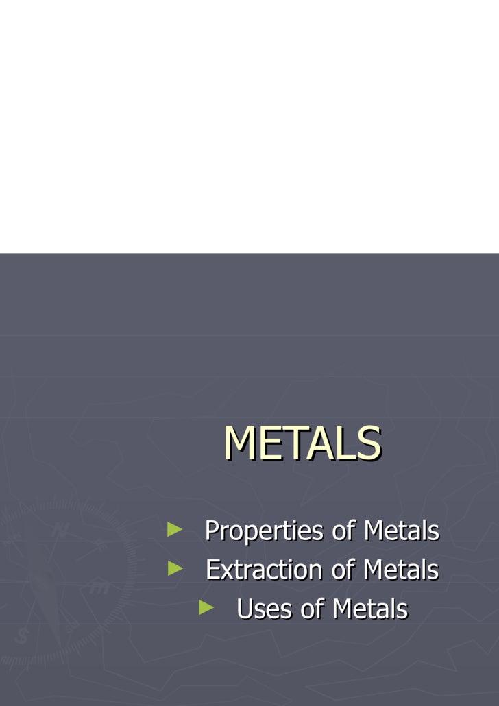 15 Metals