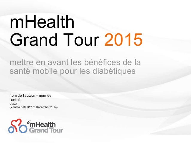 [infographie] mHealth Grand Tour 2015