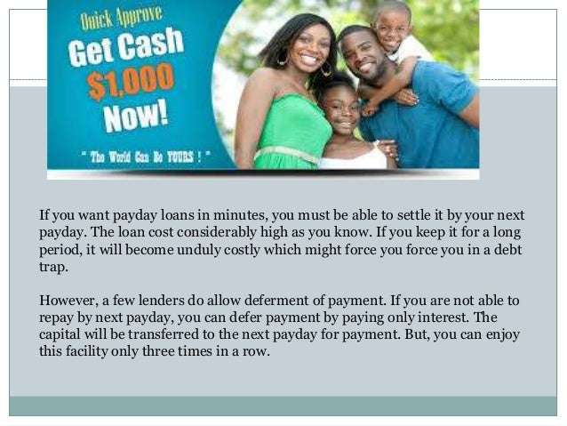payday loan with no fees