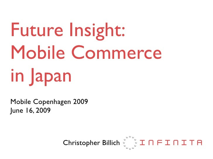 Future Insight: Mobile Commerce in Japan