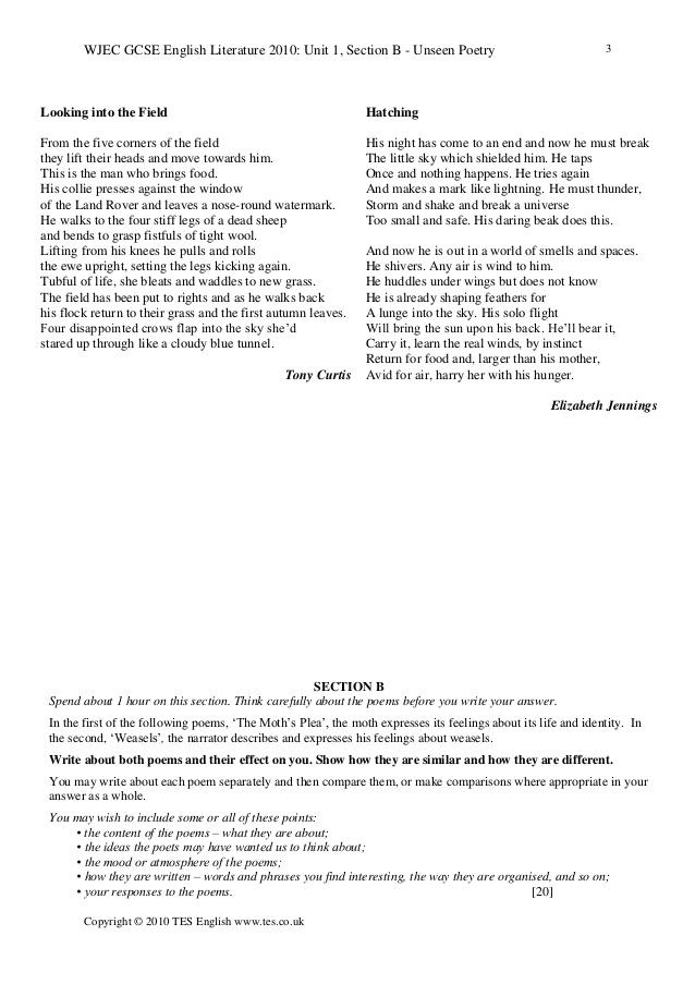 wjec gcse english literature unit 1 past papers Homepage » secondary » english » ks4/gcse english » ks4 english literature » eduqas » 19th century practice papers tracking a christmas carol unit.