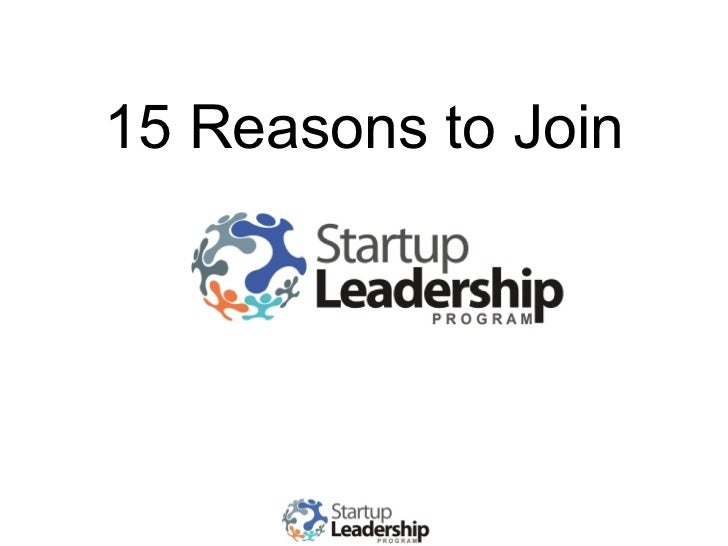15 Reasons to Join