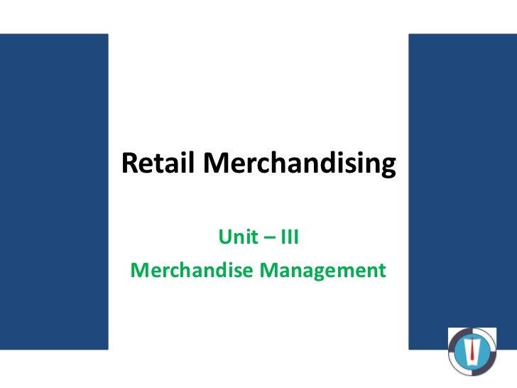 15 retail merchandising