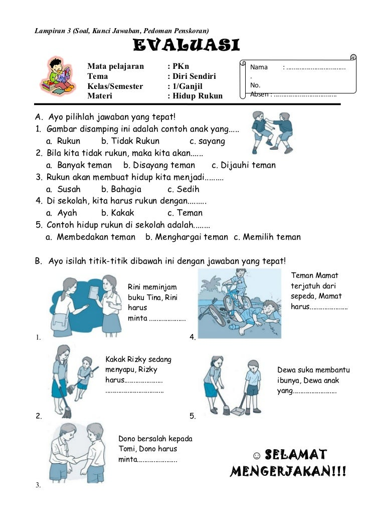 Kunci Jawaban Soal Pkn Uas Smp Kelas 9