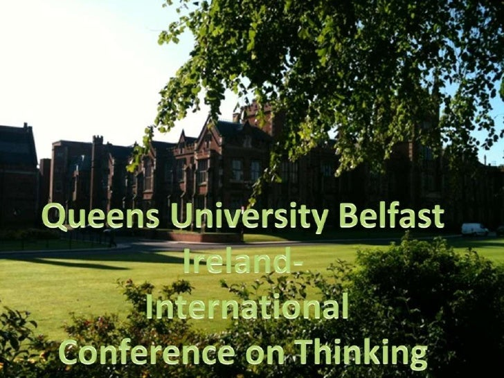15th international conference on thinking 2012