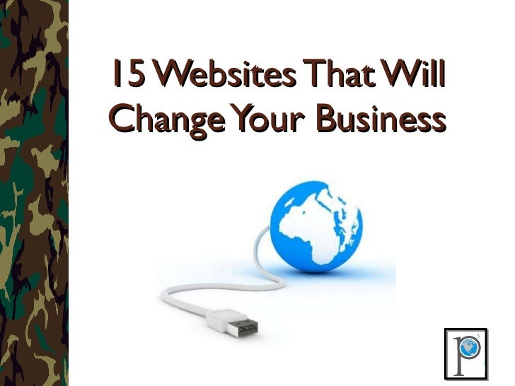 15 Websites That Will Change Your Business
