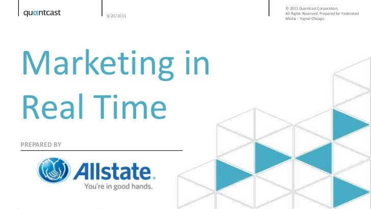 The Allstate Story: Leveraging Real Time Tech for Success