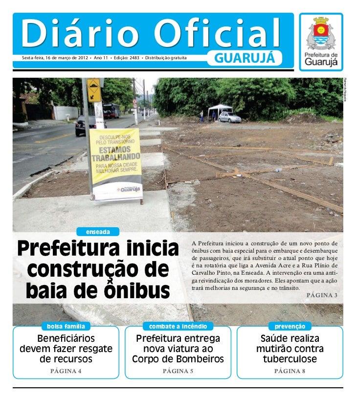 Diário Oficial de Guarujá - 16-03-12