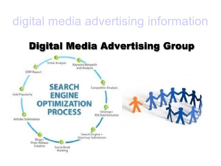 digital media advertising information