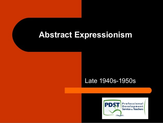 16. abstract expressionism