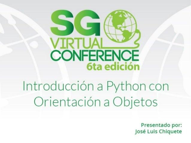 16 17 tecnologias python oop