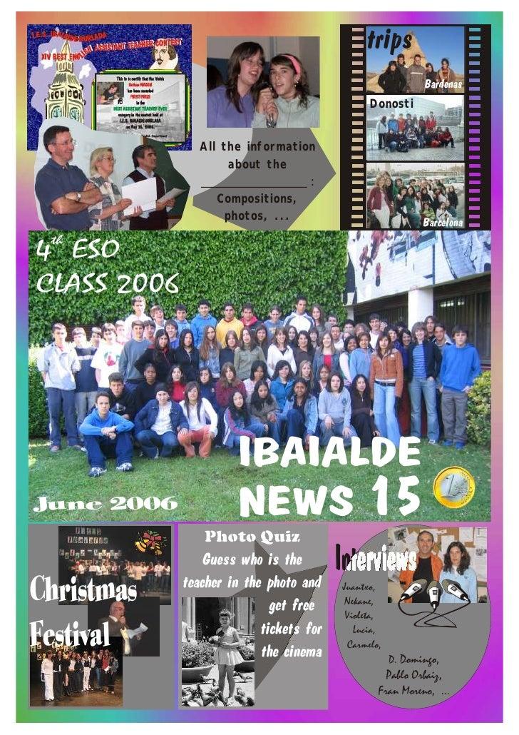 Ibaialde News 15