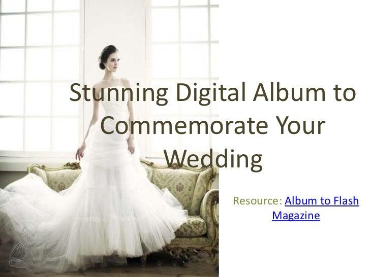 stunning digital album to commemorate your wedding
